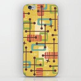 Mid Century Modern Abstract Pattern 773 iPhone Skin