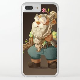 Merle - Summer Look Clear iPhone Case