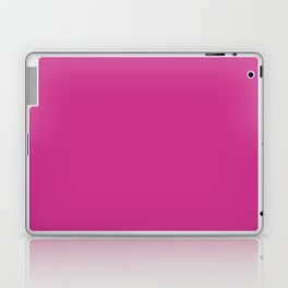 Magenta-Pink - solid color Laptop & iPad Skin