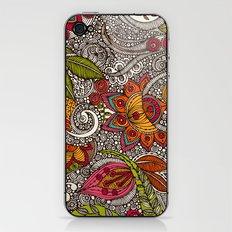 Random Flowers iPhone & iPod Skin