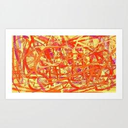 1A4 Art Print