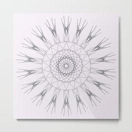 Simple Lines Metal Print