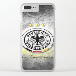 Germany National Football Team Clear iPhone Case