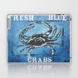 Fresh Blue Crabs Laptop & iPad Skin