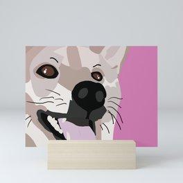 Shiba Inu Digital Art Mini Art Print