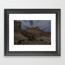 New Mexican Mountains Framed Art Print
