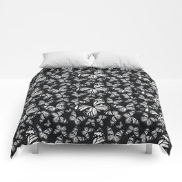 Monarch Butterflies | Monarch Butterfly | Vintage Butterflies | Butterfly Patterns | Black and White Comforters
