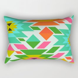Ethnic with a tropical summer vibe Rectangular Pillow