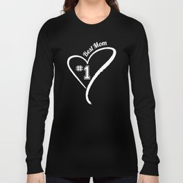 Number 1 Best Mom Long Sleeve T-shirt