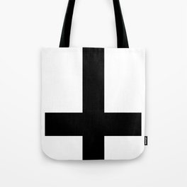 inverted cross Tote Bag