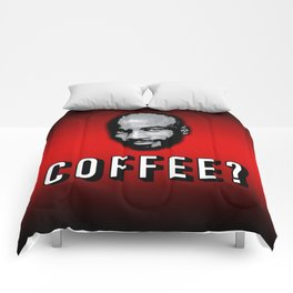 Coffee Lover RED Comforters
