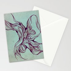 Abstract form Stationery Cards
