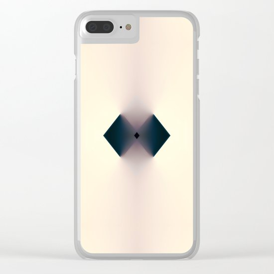 Two Means One Clear iPhone Case