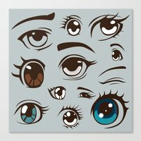 anime Canvas Prints featuring Anime by Darish