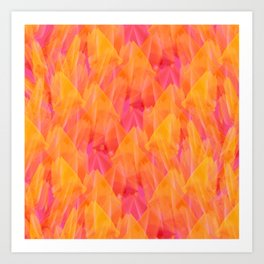 Tulip Fields #105 Art Print