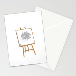 Pacify. Portrait. Painting. Let's go! Artist And Painter Gift Stationery Cards