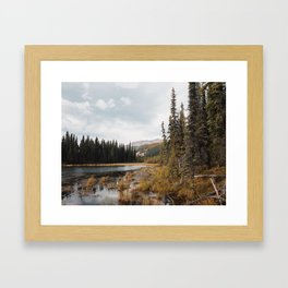 Horseshoe Lake - Denali National Park, AK Framed Art Print