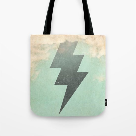 Bolt from the Blue Tote Bag