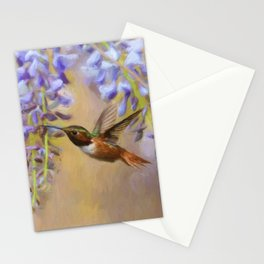 Wisteria Elegance Stationery Cards