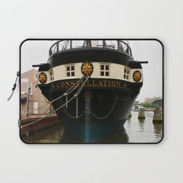 USS Constellation Detail Laptop Sleeve