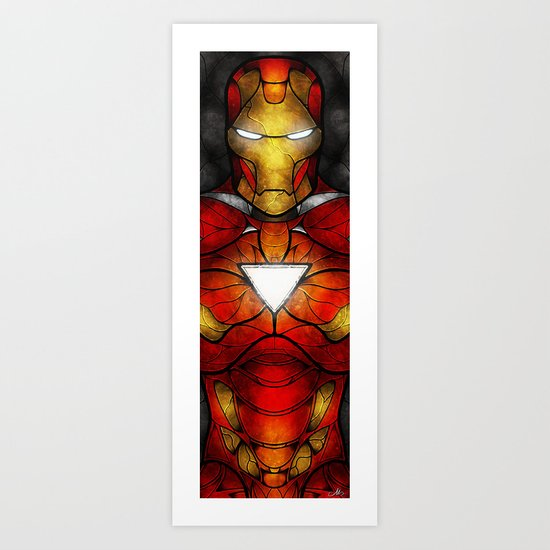 The Iron Man Art Print