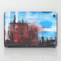 cityscape iPad Cases featuring Cityscape by Alfred Raggatt