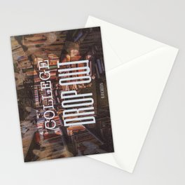 College Drop Out Stationery Cards