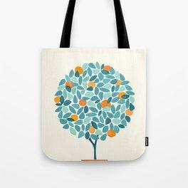 Tropical Mango Tree Tote Bag