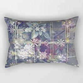 Stylish Vintage Happy Holidays Rectangular Pillow