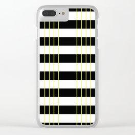 Zebra Crossing Clear iPhone Case