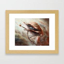 Repressed Framed Art Print