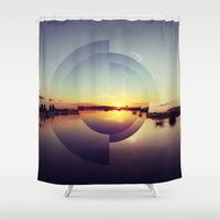 serenity Shower Curtains featuring Serenity by Kitsmumma