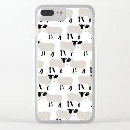 I Miss Ewe Clear iPhone Case