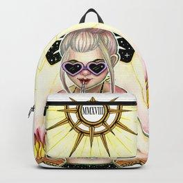 Transit umbra, lux permanet Backpack
