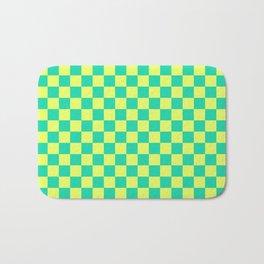 Checkered Pattern V Bath Mat