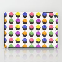 cupcakes iPad Cases featuring Cupcakes by kourai