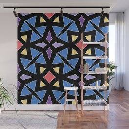 Stained Glass Color Pattern Art Wall Mural