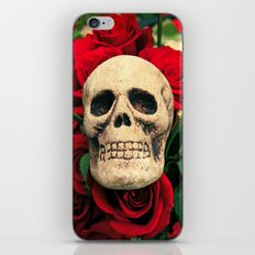 Love and death iPhone & iPod Skin