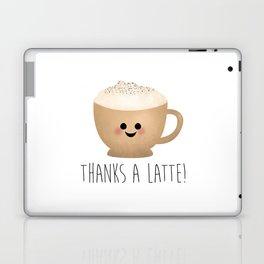 Thanks A Latte Laptop & iPad Skin