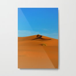Dune | Sahara Desert, Morocco Metal Print
