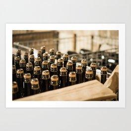 Bottling Valetta Art Print