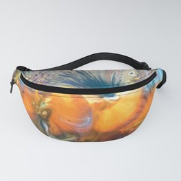 Pansy Garden Fanny Pack