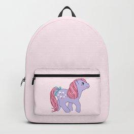 g1 my little pony lickety split Backpack