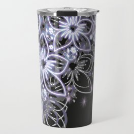 Moonflowers Travel Mug