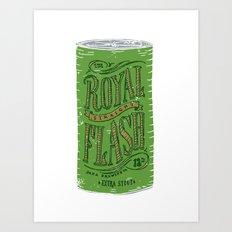 Royal Straight Flash Art Print