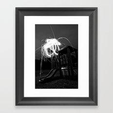 Esplode Framed Art Print