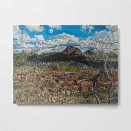 Warrumbungles Metal Print