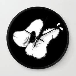 Naughty Boy Wall Clock