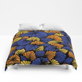 Happy abstract: Jungle Nr:03 Comforters