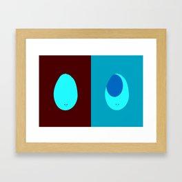 Living/Dead Mango Framed Art Print